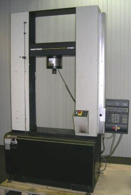 60k Instron Model 4486 Tension And Compression Testing
