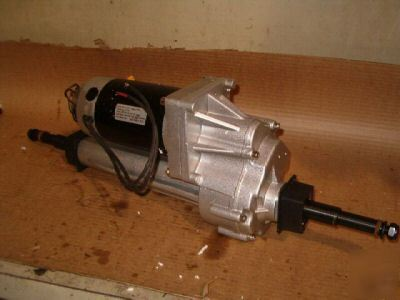 5 Hp Electric Motor >> New electric transaxle with wheels 24 volt 1.0 hp brand