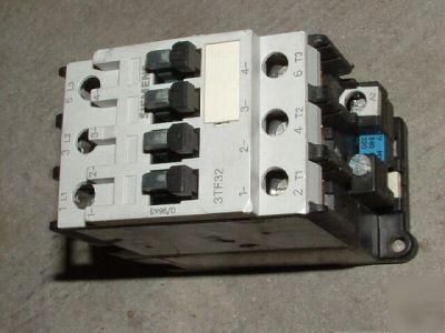 Siemens 3tf3211 0a Iec Motor Starter Contactor Nnb