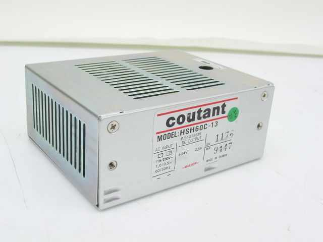 Coutant lambda HSH60C-13 pn G75535 24V 2.5A 60W max dc