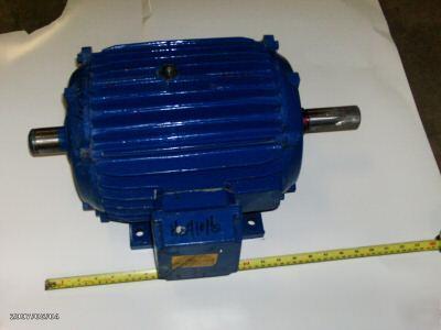 10 Hp 3 Ph 230 460 Motor Elektrim Phase Converter Fan