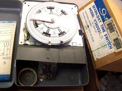 Intermatic Single Pole Double Throw Time Clock