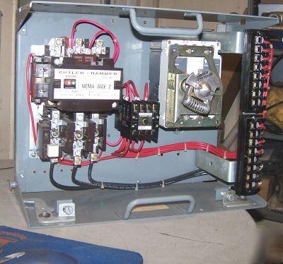Cutler Hammer Size 2 Motor Control Bucket W 50 Amp Hmcp