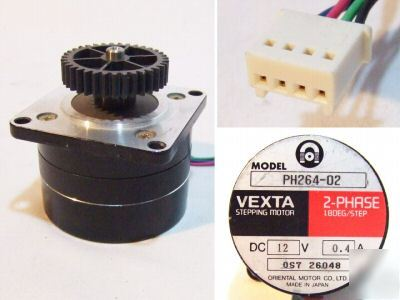 Oriental vexta ph264 02 2 phase 1 8 deg stepping motor Vexta 2 phase stepping motor