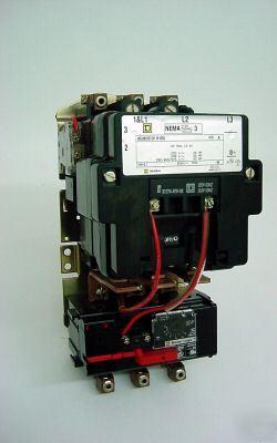 Square d nema size 3 8536seo1h10s with motor logic ol for Square d motor logic