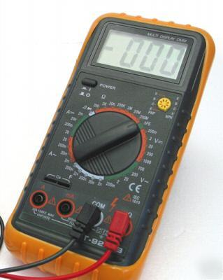 Large lcd digital multimeter dt-9205B