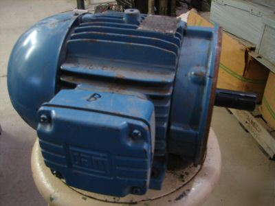 Weg w21 severe duty electric motor 3hp 182tc 3 ph tefc for Weg severe duty motor