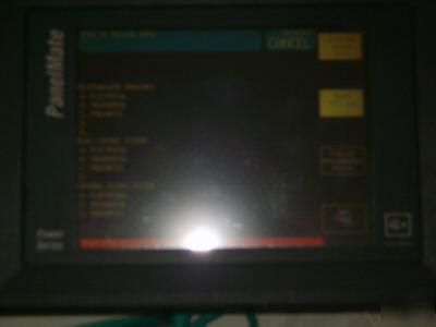 Ge Fanuc 90 30 Plc W Panelmate 1570 Color Hmi System