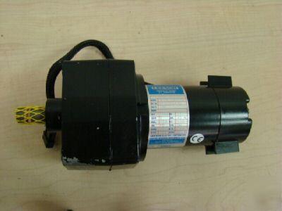 Leeson Permanent Magnet Dc Gearmotor Cm24d25nz10a