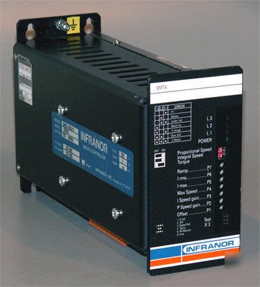 Infranor Smtas Brushless Pwm Servo Motor Amp Drive