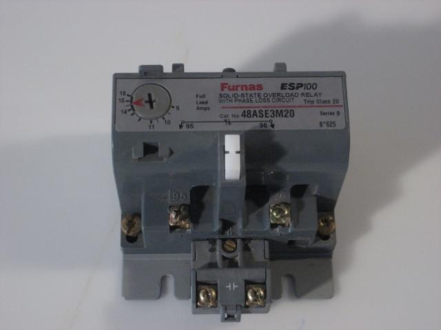Furnas ESP100 48ASE3M20 solid state overload relay / ph