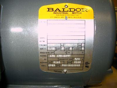 baldor motor cross reference