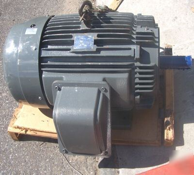 New Teco Westinghouse 60 Hp Ac Electric Motor Fr 364tc