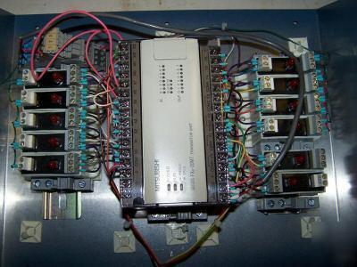 Electric panel cnc robotics control plc dcs mitsubishi