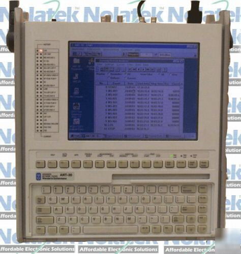 wandel goltermann ant20 advanced network tester