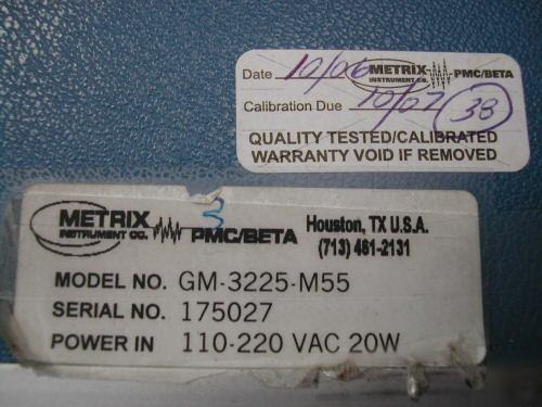 Metrix vibration monitor pmc beta vibration transducer